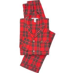 Victoria Secret Flannel PJ Set Size Large